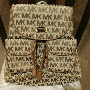 Michael Kors Medium - Large Brown Backpack